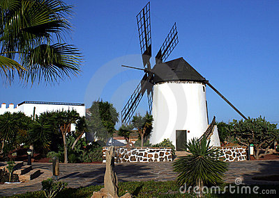 Windmill in Canary Islands
