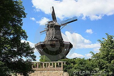 A Windmill in Germany, Europe