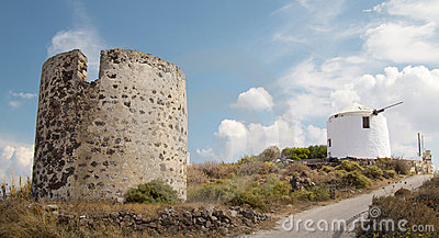 Windmill in Greece