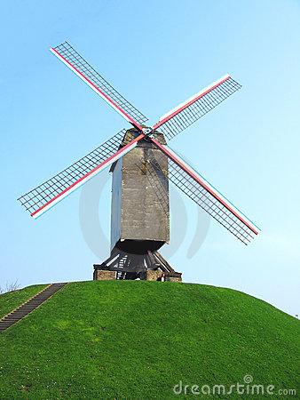 Windmill on hill
