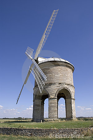 Windmill on hill chesterton warwickshire england
