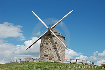 Windmill La Batie, France