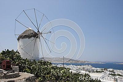 Windmill in Mykonos