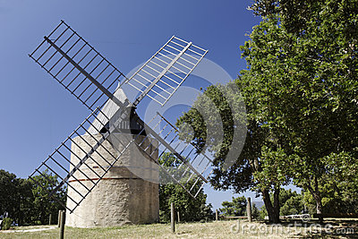 Windmill near Ramatuelle, Southern France