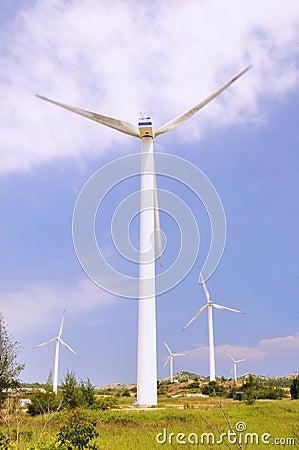 Windmill power generators