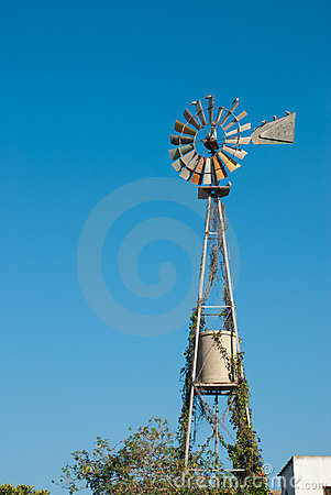 Free Windmill Pump Stock Image - 20648491