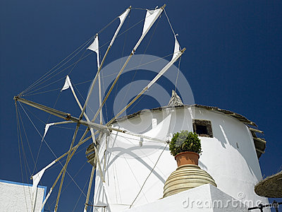 Windmill - Santorini - Greek Islands