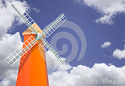 Windmill tower