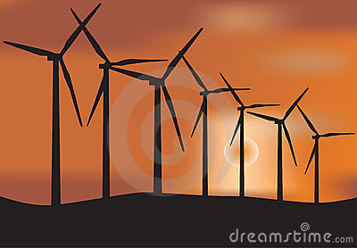 Windmill Turbine Stock Photography - Image: 14707012