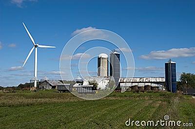 Windmill Turbine Wind Green Energy by Farm