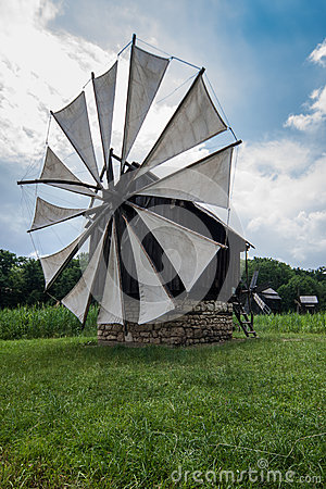 Windmill in the Village Museum
