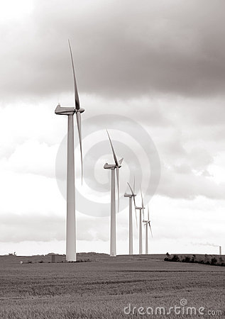 Windmill Wind Turbine Power Royalty Free Stock Photography - Image: 807777