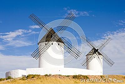 Windmills, Alcazar de San Juan
