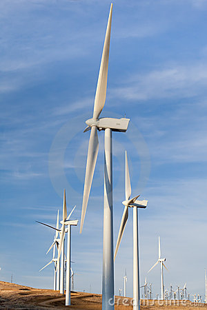Windmills for alternative energy