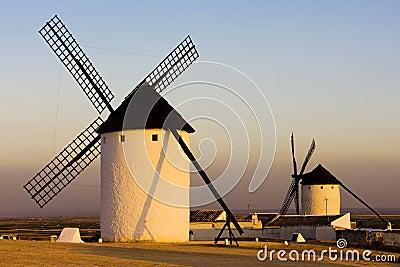 Windmills in Campo de Criptana