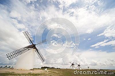 Windmills, Campo de Criptana, Castile-La Mancha, S