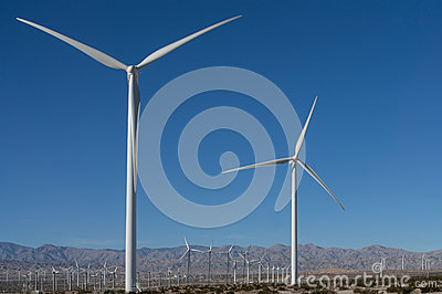 Windmills in the Coachella Valley