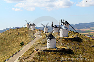 Windmills, Consuegra spain