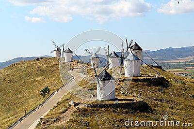 Windmills, Consuegra spain