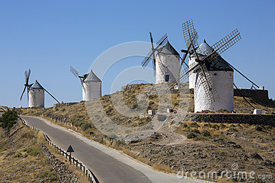 Windmills - Consuegra - Spain