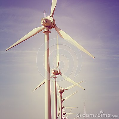 Windmills electric power