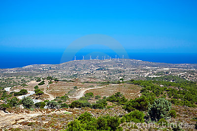 Windmills, Kos Island