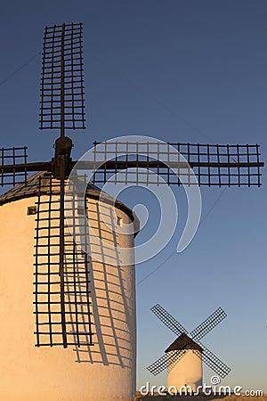 Windmills - La Mancha - Spain
