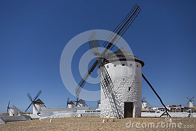 Windmills - La Mancha - Spain