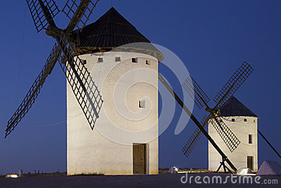 Windmills of La Mancha - Spain