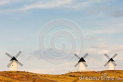 Windmills, Spain