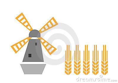 Windmolen en oor