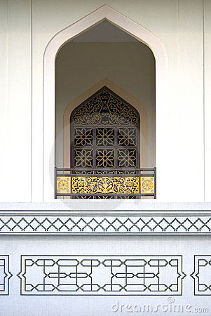 Window at Al-Azim Mosque