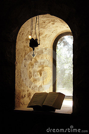 Free Window And Bible Stock Images - 2287814