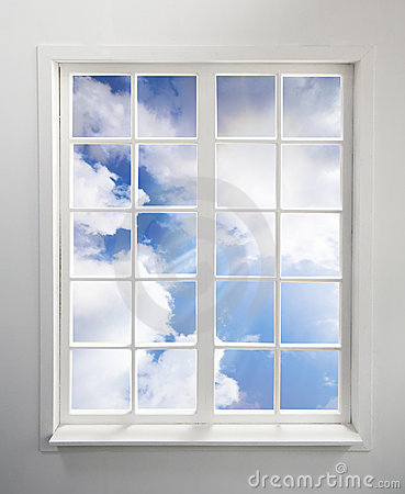 Free Window And Sky Royalty Free Stock Image - 20121806