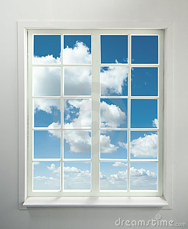 Free Window And Sky Royalty Free Stock Image - 20121946