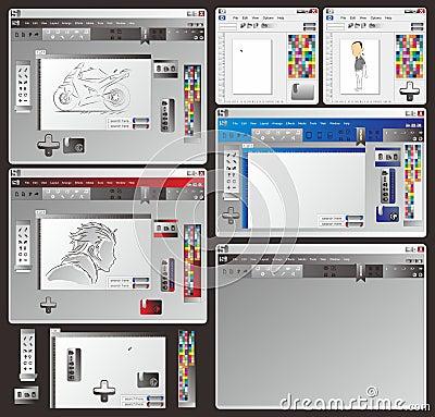 Window application set