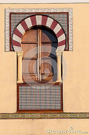Window in Arabian style