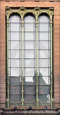 Window Art Nouveau