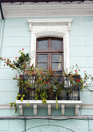 Window balcony quito ecuador