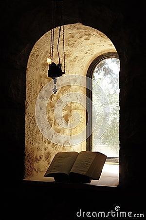 Window and bible