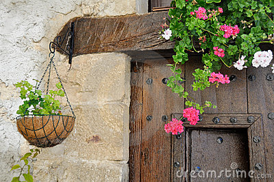 Window Box in a country house