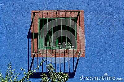 Window at Casa Azul
