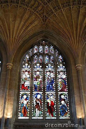 Window, Cathedral, Peterborough.