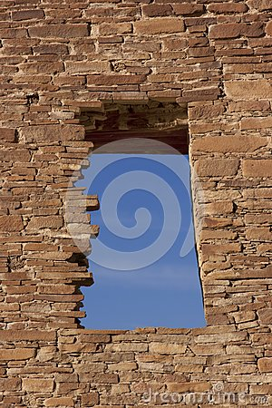 Window, Chaco Culture National Historic Site