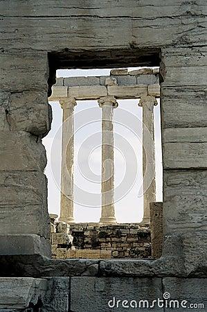 Window and columns