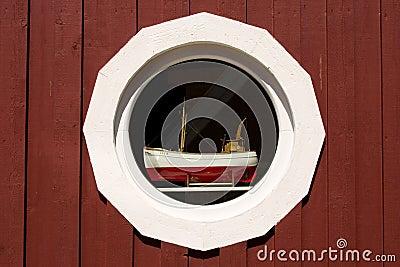 Window detail, Sweden