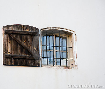 Window with door