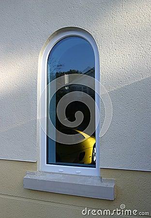 Window of dreams Editorial Stock Photo