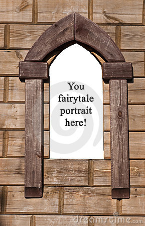 Window from fairytale