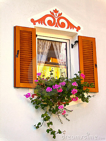 Window with Flower Box